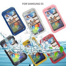 Beach waterproof phone case for samsung galaxy s5/i9600