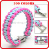 vogue durable braid paracord bracelet factory direct sales