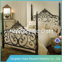 Home Bedroom Furniture Iron Bed Metal Bed