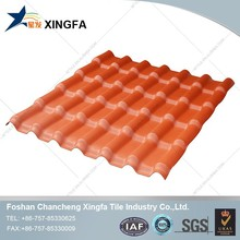 economic design synthetic spanish Cottage Roof Tile