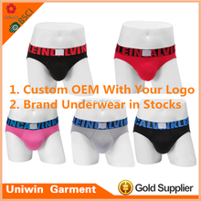 Brand X design underwear mens briefs wholesale