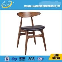 A08 Imitation wood modern restaurant/hotel chair modern luxury restaurant chairs dark wood restaurant chairs