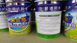 polymer modified cementitious JS waterproof coating