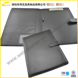 2015 Handmade Metal Ring Binder With Clip Holding Papers