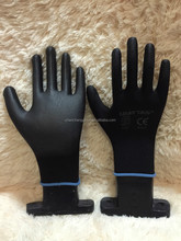 nitrile gloves dots/nitrile coing glove/nitrile gloves powder free blue