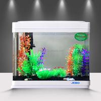 Mini fish tank for office table desktop mini aquarium