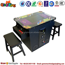 cocktail table with 60 in 1 arcade game machine
