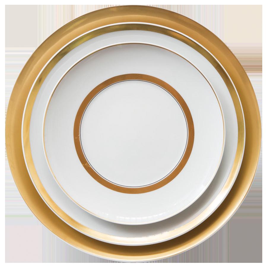 Corelle yemek setleri el yapımı toptan altın kemik çin yemeği seti