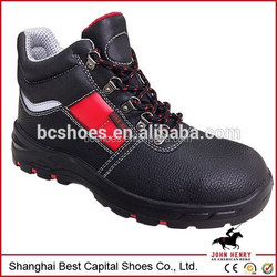 Mens new fashion footwear colorful shoes with steel to cap work shoes