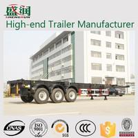 High-end Trailer Manufacturer Shengrun Truck And Trailer 40 ft Skeleton Trailer