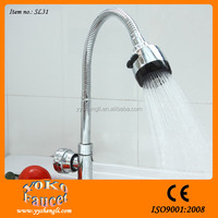 single handle chrome plating basin faucet