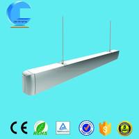 fancy lighting aluminum material pendant led light for supermarket lighting