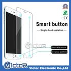 único inteligente protetor de tela pelicula de vidro temperado com esperto confirmar e botão de voltar para for Iphone 6