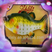 Funny Big Mouth Billy Bass Bub Electric simulation singing fish toy