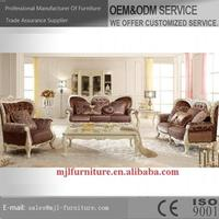 Popular useful european standard wooden sofa set