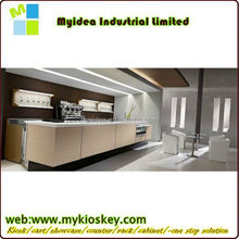 Simple Elegant Home Use Corain Solid Surface Bar Counter modern home mini bar counter design for sale