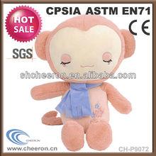 Small plush toys cute plush monkey