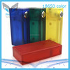 ABS 18650 clear box mod phimis PC mod with Low voltage drop