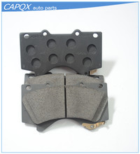 manufacturer front disc brake pads 04465-60280 for toyota LAND CRUISER for Japanese car parts