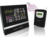 2015 professional 7 languages world time desktop clock from manufacturer
