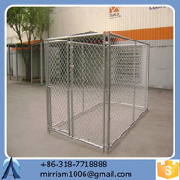 Easily cleaned hot sale eco-friendly and stocked wrought iron dog kennel/pet house/dog cage/run/carrier