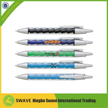 high quality customized plastic ball pen 46003