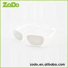Unique lovely shape 3D polarized passive glasses