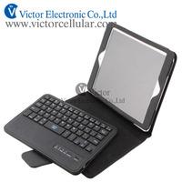 New Bluetooth keyboard Leather Case for iPad mini