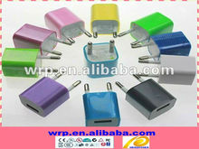 5V0.5A colorful usb wall charger for UK/EU/UL