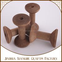 Natural Wooden Spool,Thread Twine Spool,Natural Wooden Bobbins