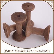 Natural Wooden Spool,Thread Twine Spool,Natural Wooden Bobbins
