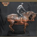 caballo de bronce de la escultura
