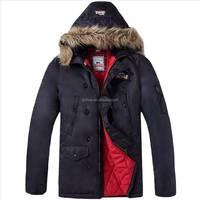2015 men super solid warm coat with hoody printing lining coat with hoody men warm coat