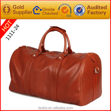 Polo Classic Travel Bags Men 's Leather Travel Duffel Bag