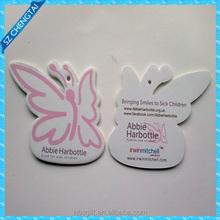 2015 Custom Shape Lasting Scent Paper Air Freshener