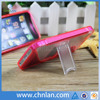 Concise style dual color pc tpu phone cover for iphone 5 s case with stand