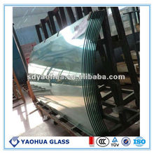 doors and windows CE approved curved tempered glass