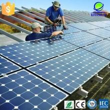 high quality 18V 100W poly solar panel with Aluminum frame
