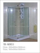 simple glass cheap custom made smart shower enclosure