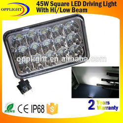cre e 45W LED Work Light,motorcycle led driving lights,45w cre e led work light 12v 24v