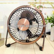 4/6 inch usb mini antique fan / mini personal antique fan for office / usb table cooling fan CE ROHS HY-04