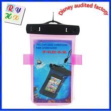 Custom logo outdoor sports bag mobile phone waterproof bag