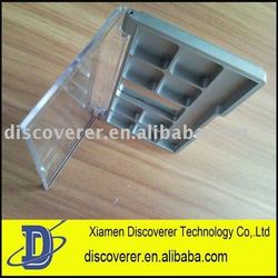 custom makeup eye shadow plastic mould maker