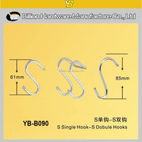 YB-B090 metal S hook for display