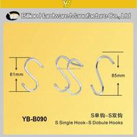 YB-B090 metal S hook for display
