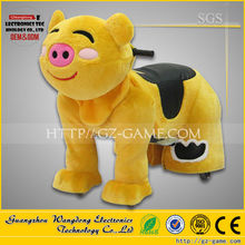 walking animal rides coin operated battery/animal rides for children