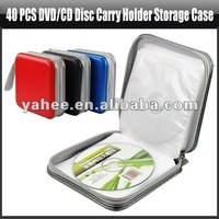 40 PCS DVD/CD Disc Carry Holder Storage Case,YAN504A