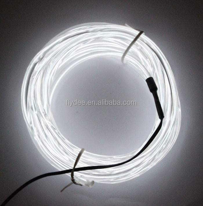 New Flydee Round Shape El Wire 5.0mm Diameter High Bright Led Neon ...