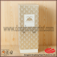 Bulk sale china rectangular cardboard boxes for wine packaging