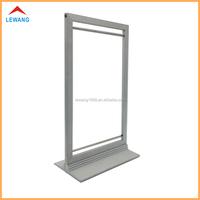 Metal Tabletop Advertising Poster Frame Aluminum Alloy Display Sign Holder Stands